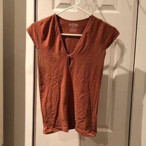 Free People Fitted Tee